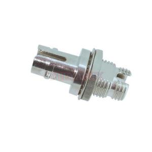 10-PCS-Metal-Round-FC-female-to-ST-female-Fiber-Optic-Flange-Adapter