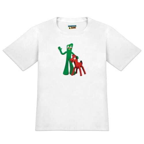 Gumby Pokey Best Friends Clay Art Men/'s Novelty T-Shirt