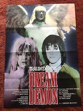 Dream Demon Kinoplakat Poster A1, Traumdämon, Kathleen Wilhoit