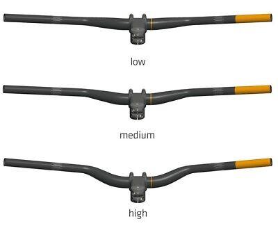 SQlab 3OX MTB Guidon de Vélo Aluminium 16° Backsweep 780mm,Low Med Haut Rise