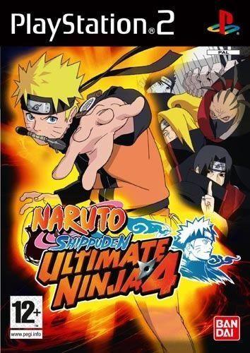 Naruto Shippuden Ultimate Ninja 4 PS2 Jeu