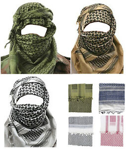 Mens-Army-Military-Desert-Tactical-Neck-Head-Wrap-Combat-Sun-Hat-Shemagh-Scarf
