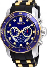 Invicta Men's Pro Diver 100m Chronograph Blue Dial Luminous Watch 22971