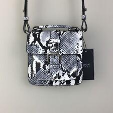 c7f986bb641e Armani Jeans black and White Snake Print Mini bag BNWT