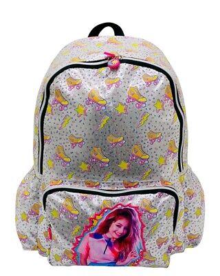 Soy Luna Backpack  Pink Grey