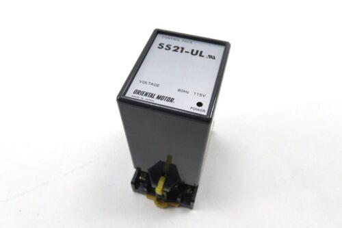 Oriental Motor  SS21-UL Control Pack w// Base