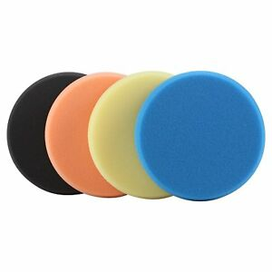 4Pcs-6inch-150mm-Mix-Color-Buffing-Polishing-Pads-Kit-Set-select-color