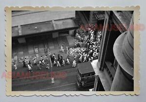 DOUBLE-SECKER-BUS-STREET-SCENE-QUEEN-039-S-ROAD-VINTAGE-Hong-Kong-Photo-16224