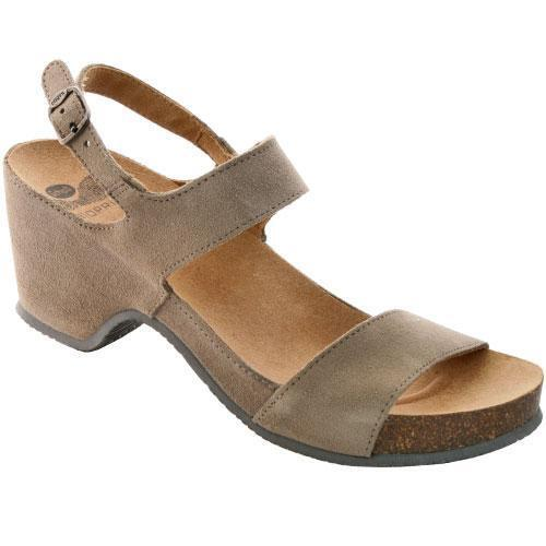 DR SCHOLL KAYE suede sandals clogs slippers womens flip flops wedge suede