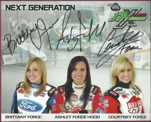Force-Sisters-Next-Generation-Photo-Signed-by-All-Three-COA-UACC-RD-036