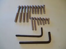 TRIUMPH TIGER CUB ALLEN SCREW SET ALL POINTS IN SIDE MODELS 1965-68 STAINLESS