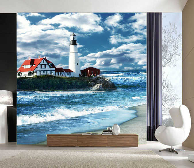 3D Strand Surfhaus 57 Tapete Tapeten Mauer Foto Familie Tapete Wandgemälde DE