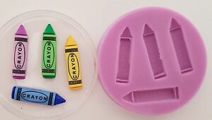 CRAYONS-SILICONE-MOULD-FOR-CAKE-TOPPERS-CHOCOLATE-CLAY-ETC