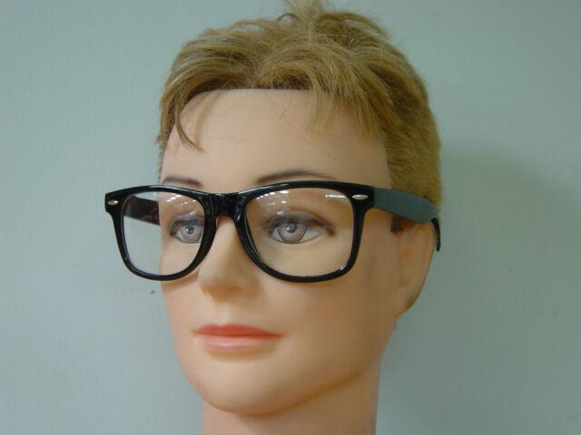 Retro  60s 70s - Clark Kent - Nerd Austin Powers Costume Glasses