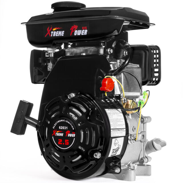 2 5HP (79 5cc) OHV Horizontal Shaft Gas Engine Mini Bike 4-Stroke Motor EPA