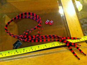 Red Stripe Negro Rayado Cordones festivales Cordones Flirt Nuevo Zapato