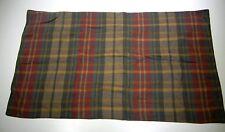Rare RALPH LAUREN Equestrian King Pillow Sham Soft Flannel Gold Brown Green
