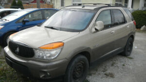 2003 Buick Rendezvous leather