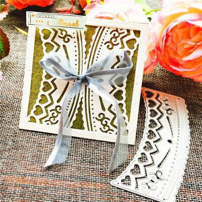 Stanzschablone Blume Welle Weihnachten Hochzeit Geburtstag Oster Karte Album DIY