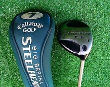Callaway Big Bertha Steelhead Plus 7 Wood Fairway Gems Ladies Women