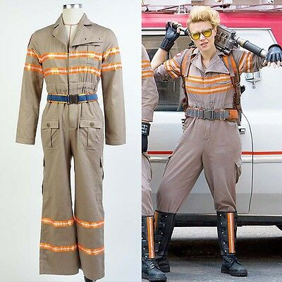 Ghostbusters Ghost Busters Halloween Cosplay Costume CWU-27p Flight Suit Uniform