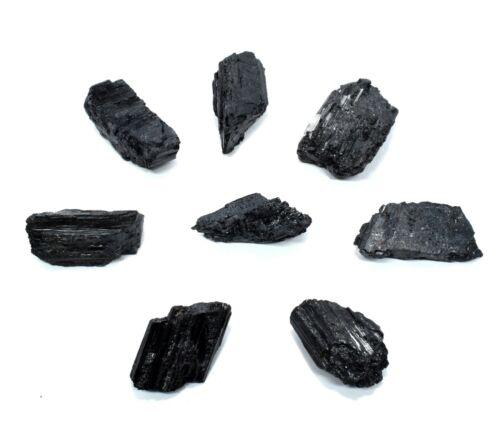 Bulk Black Tourmaline Schorl Rough Crystal Stone Minerals Brazil 1//2 1 2 5 LB