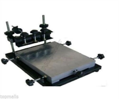 300X240MM Paste Printer Pcb Smt Stencil Printer Small Size Manual Solder rf