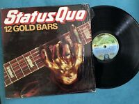 Status Quo - 12 Gold Bars LP QUO TV 1 Vertigo Original 1979 Vinyl Record ex