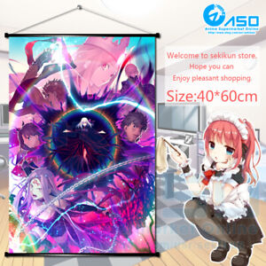 Anime Fate//Stay Night Toosaka Rin  Wall Scroll Poster Home Decor Gift 60*90CM
