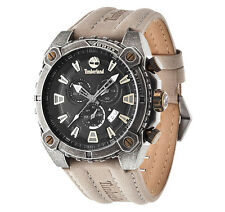 Timberland Men's Pontook Brown Leather Watch - NEW - RRP £195