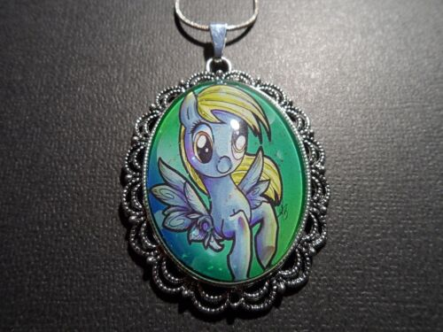 MY LITTLE PONY FAN ART DERPY NECKLACE-HANDMADE