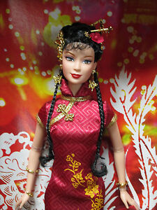 NIB~2005 PINK LABEL BARBIE~FESTIVALS of the WORLD~CHINESE ...