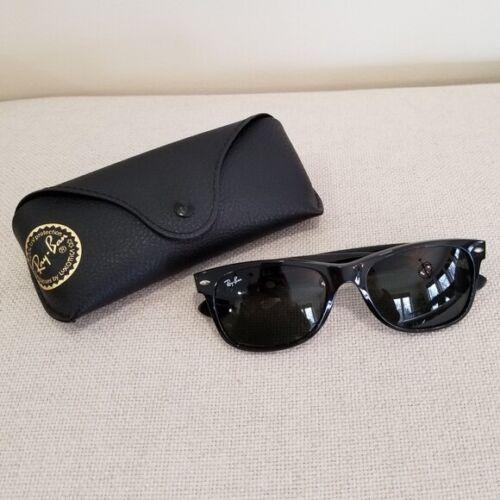 RAYBAN Black Gloss New Wayfarer Sunglasses