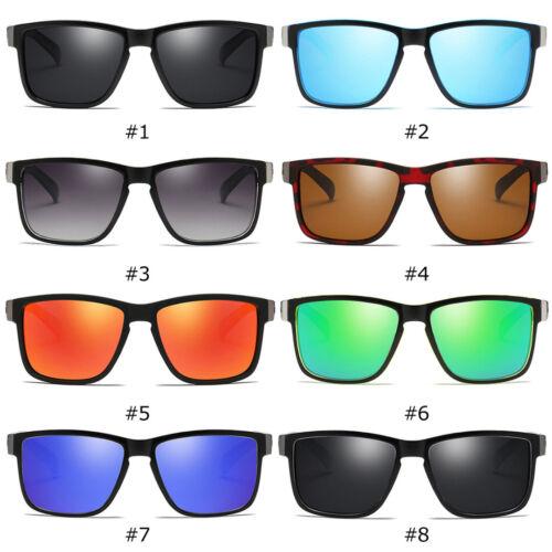 DUBERY Polarisiert Sonnenbrille Square Fahrrad Sport Angeln brille 100/% UV400