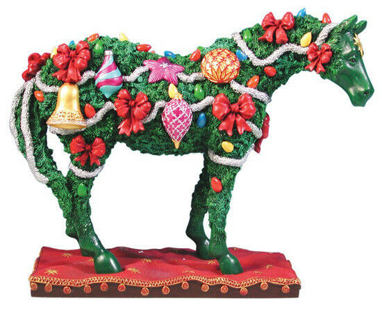 Trail of Painted Ponies DECK THE HALLS PONY FIGURINE Retired New in Box Westland