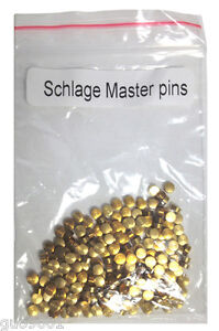 200 Pieces Schlage Master Rekey Pins #2 Locksmith Pin Rekeying Keys Kits