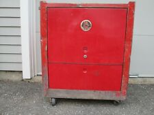 Cornwell Tool Box Chest Cabinet Vintage Rolling