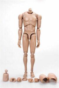 1-6-Male-Body-Action-Figure-Edge-Asian-Skin-Tone-Matte-MX02-B-Fit-12-034-Head-Toys