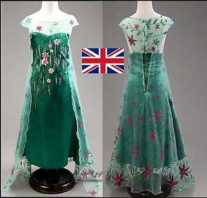 Royaume-uni-elsa-frozen-fever-fancy-dress-costume-girls-princess-3-4-5-6-7-8-9-10-ans