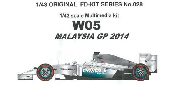 Studio27 1 43 W05 Malasia Gp 2014 Multimedi Kit