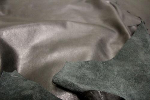 cuoio pelle Nero agnello pelle conciata conciata pelle 1a Lammnappa