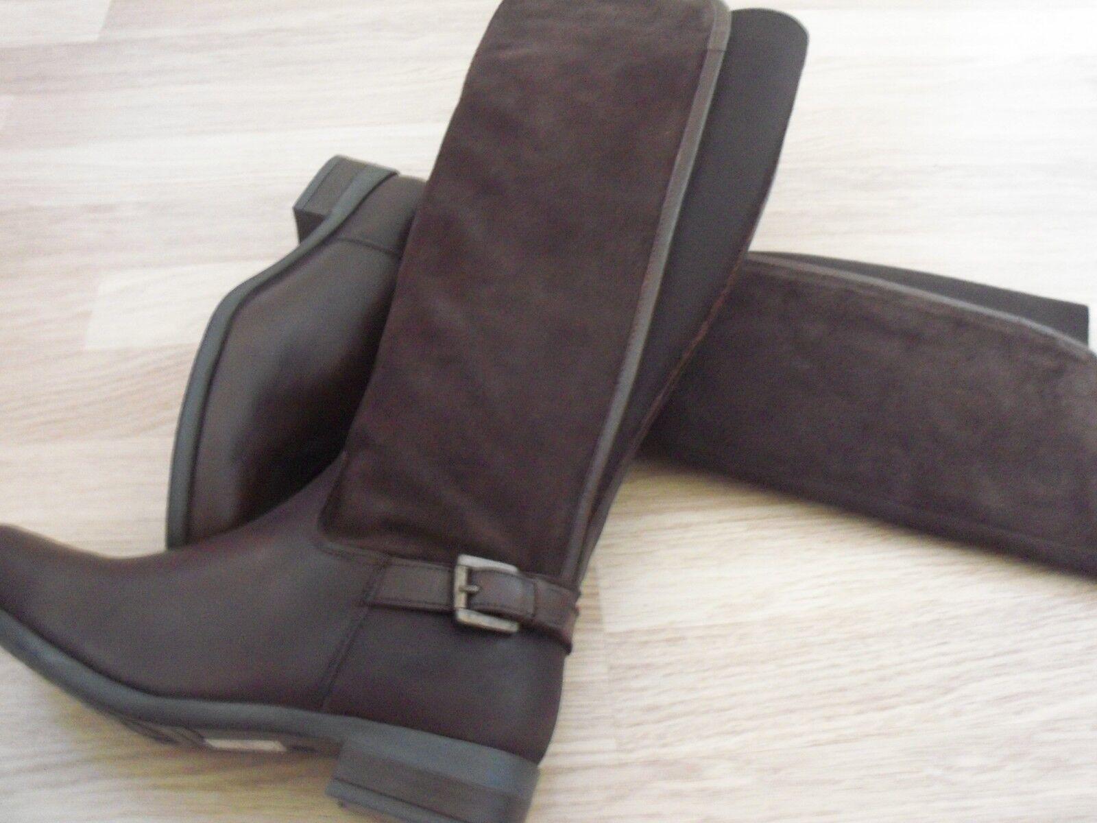 NEW    Debenhams MANTARY  Leder Stiefel in Braun CHOICE 4/5/6 99a913