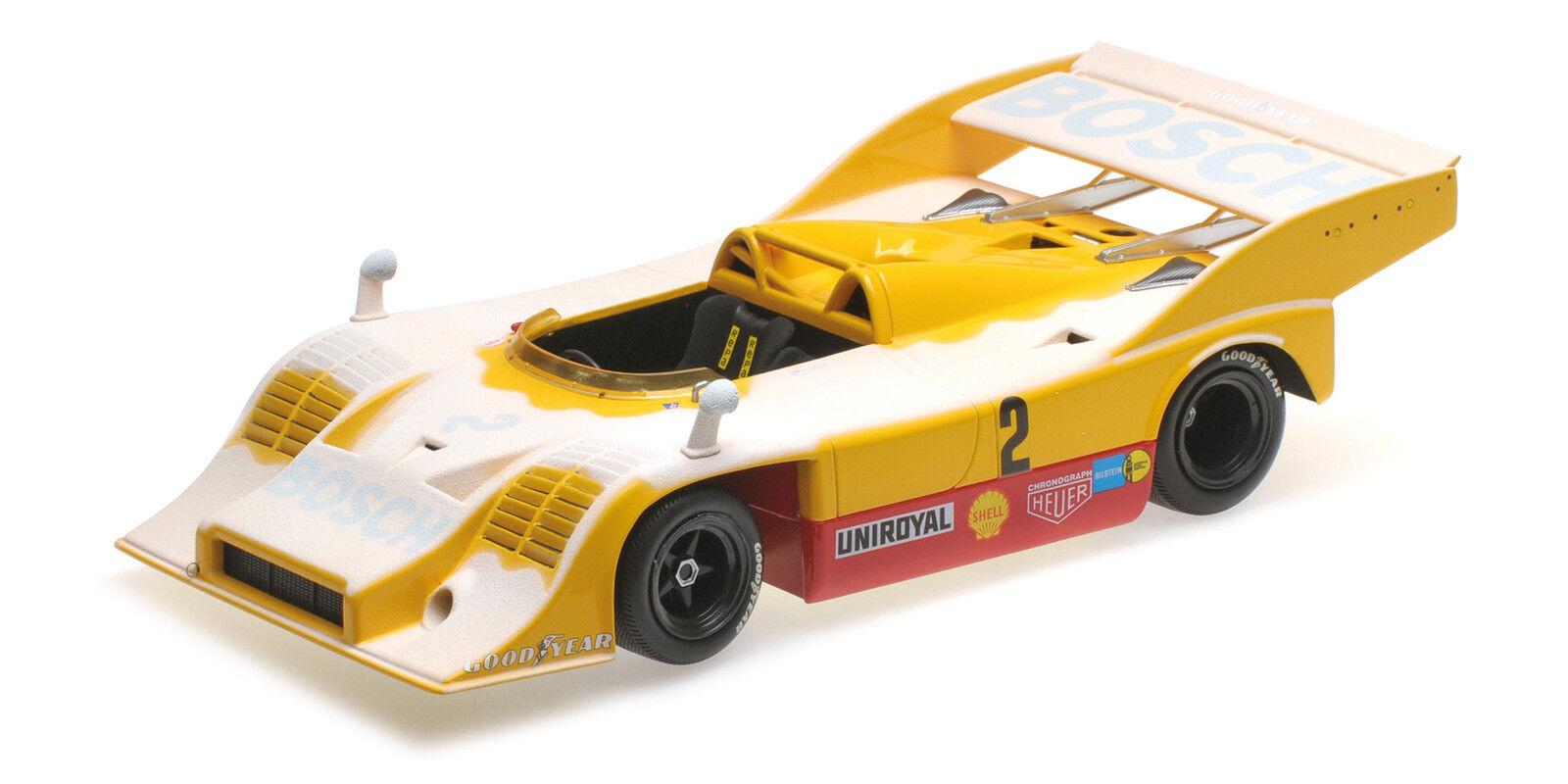 Porsche 917 10 Kauhsen Heinemann Farewell In Snow Nurburgring 1973 1 18 Model
