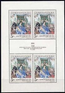 CZECHOSLOVAKIA-1968-Praga-68-5Kc-FIP-sheetlet-of-4-MNH