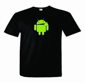 Android-T-Shirt-Eats-Apple-Nerd-Computer-Geek-Cell-Phone