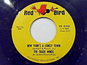 The-Trade-Winds-New-York-039-s-A-Lonely-Town-Club-Seventeen-45-Vinyl-Record