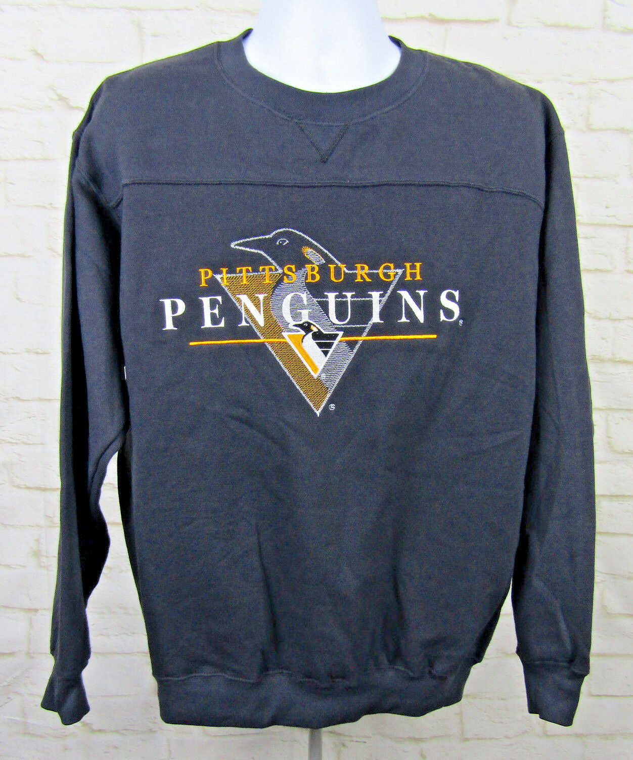 540636a5601 Pittsburgh Penguins Vtg Lee Sports Sweatshirt Sz Mens Medium Black ...
