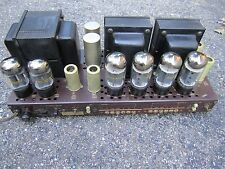 Rare Fisher SA-300 amp 6CA7 STEREO EL34 tube audio amplifier The 300