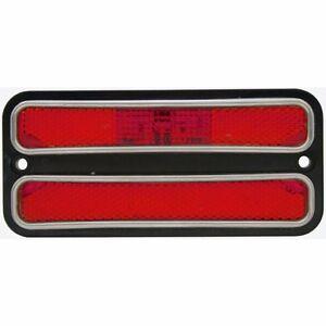 LED SIDE MARKER LIGHTS CHEVROLET TRUCK 1968 1969 1970 1971 1972 2 PC SET RED