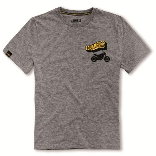 Ducati Scrambler Collection Big Banner Short Sleeve T-Shirt 98769181 NEW
